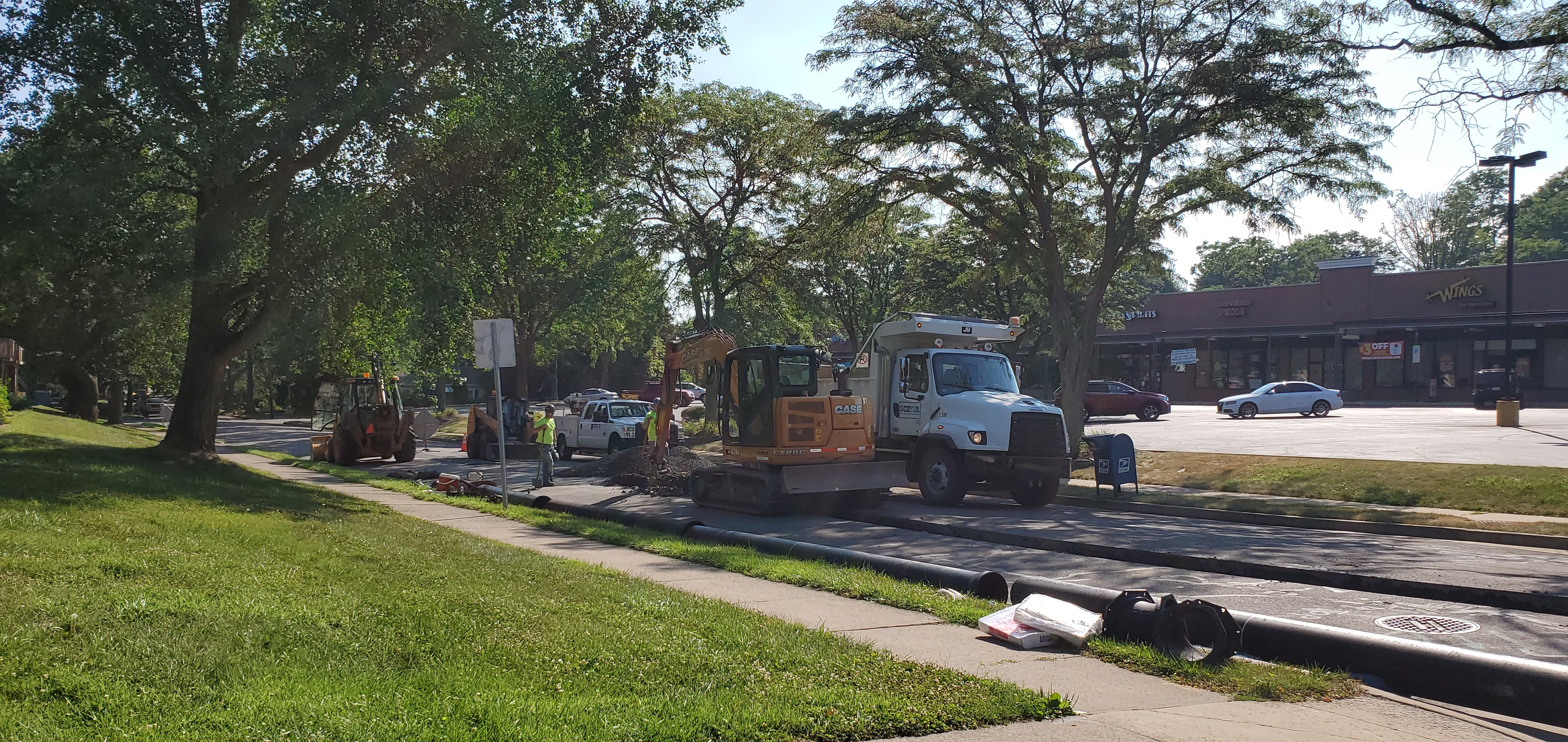Hamilton Ave Water Line Replacement