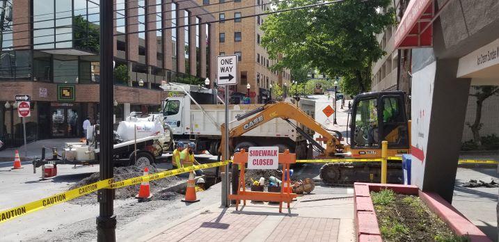 Pugh Street Construction